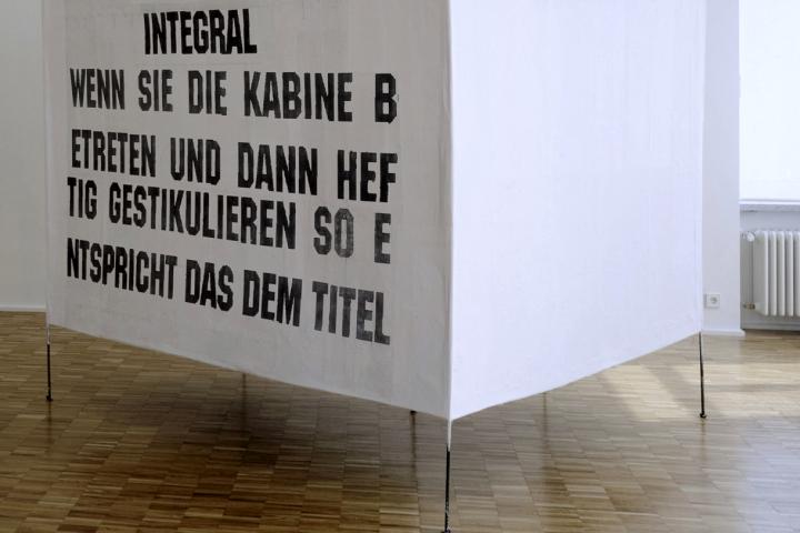 Franz West, Integral (Paravent), 1997