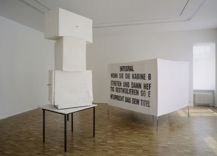 Franz West, Integral (Paravent), 1997