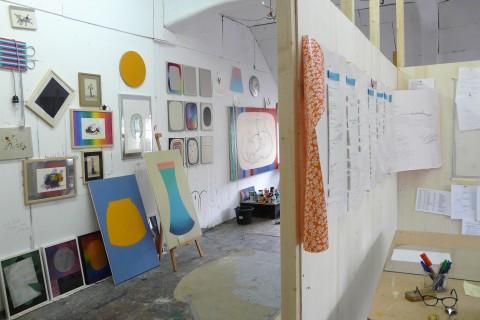 Juliana Ortiz, Atelieransicht