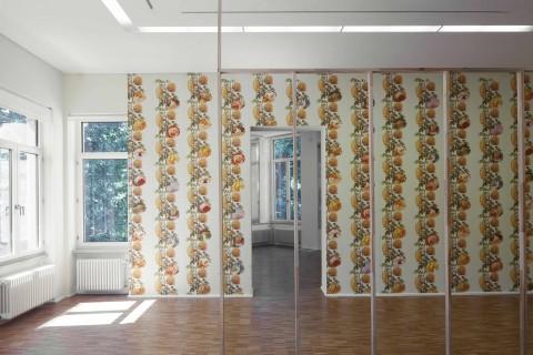 Ausstellungsansicht, Pass-Stücke, Klaus vom Bruch, 2018, Foto: Wenzel Stählin