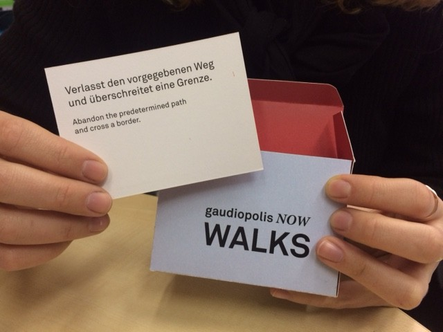 gaudiopolis NOW / Walks
