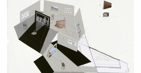 Dorit Margreiter, ANALOG, GfZK 2006, Ausstellungsmodell: Julia Schäfer.