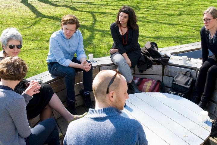 """Symposium """"sammeln in der Zeit"""" Foto: Nora Frohmann"""