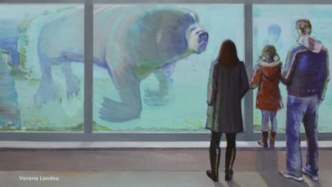 Ausstellungsbesuch Zoo, Verena Landau, 2018.