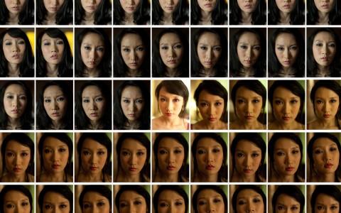 Xu Yong, This Face, 2011, Fotoausschnitt © Xu Yong