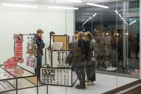 Ausstellung: Bewußtes Unvermögen. Das Archiv Gabriele Stötzer. Foto: Alexandra Ivanciu
