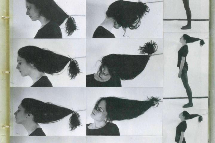 Gabriele Stötzer: Gedankensplitter, Cover (Detail)