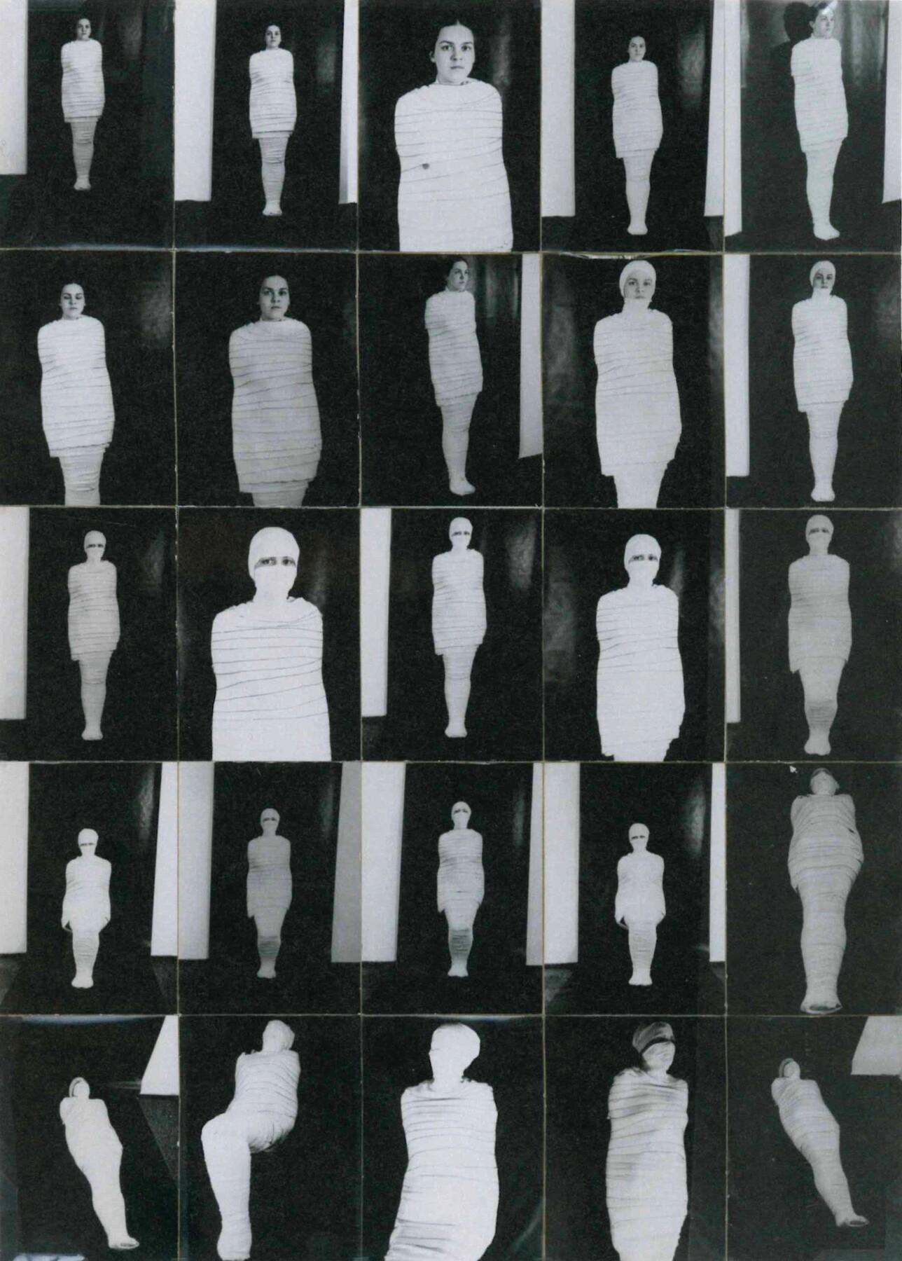 Gabriele Stötzer: Mumie, 1984
