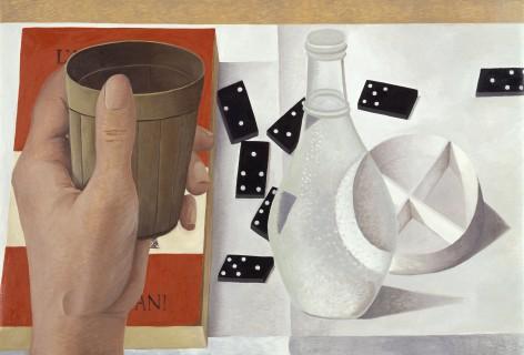 Nathalie Du Pasquier, Oil on Canvas 100x150, 2001.