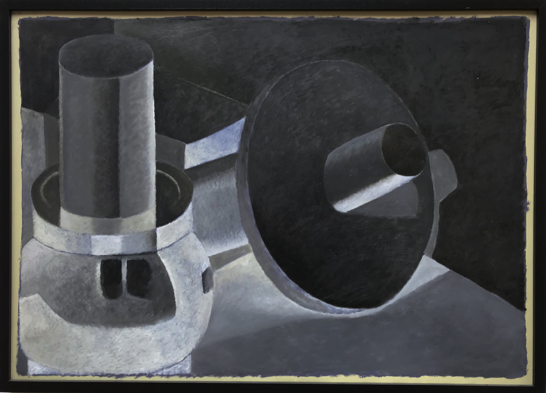 Natahlie Du Pasquier, Oil on Paper, 50x70, 2005.