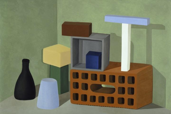 Nathalie Du Pasquier, Painting 100x150. 2006.