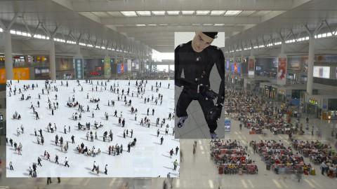 Clemens von Wedemeyer, Transformation Scenario, 2018. Courtesy: KOW, Berlin & Galerie Jocelyn Wolff, Paris