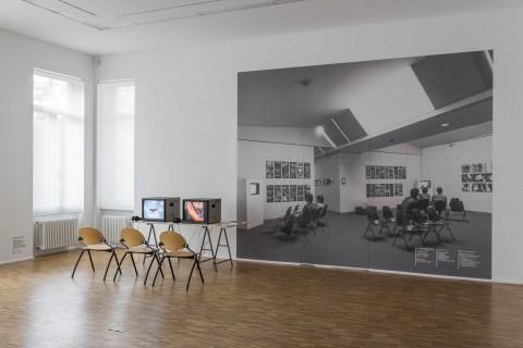 Klaus vom Bruch, Digitalisierte Videobänder von 1974-1986 und Ausstellunsansicht ars viva 82/83