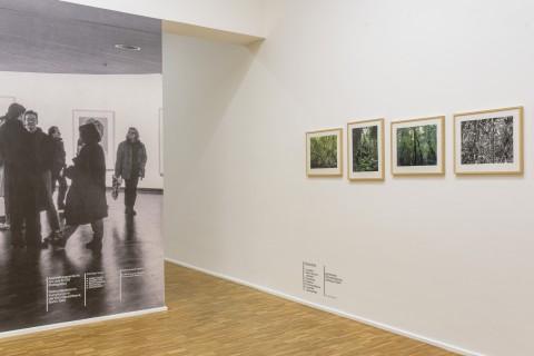 Thomas Struth, pigmentierte Tintenstrahldrucke, Griffelkunst 2004 und Ausstellungsansicht ars viva 87/88