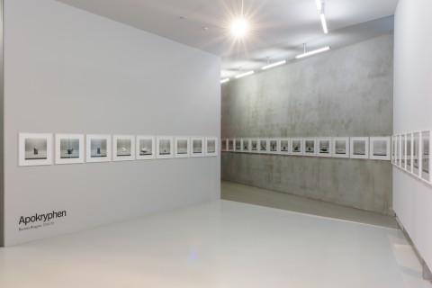 Ausstellungsansicht anarchive, Ricarda Roggan, Apokryphen, Foto Alexandra Ivanciu