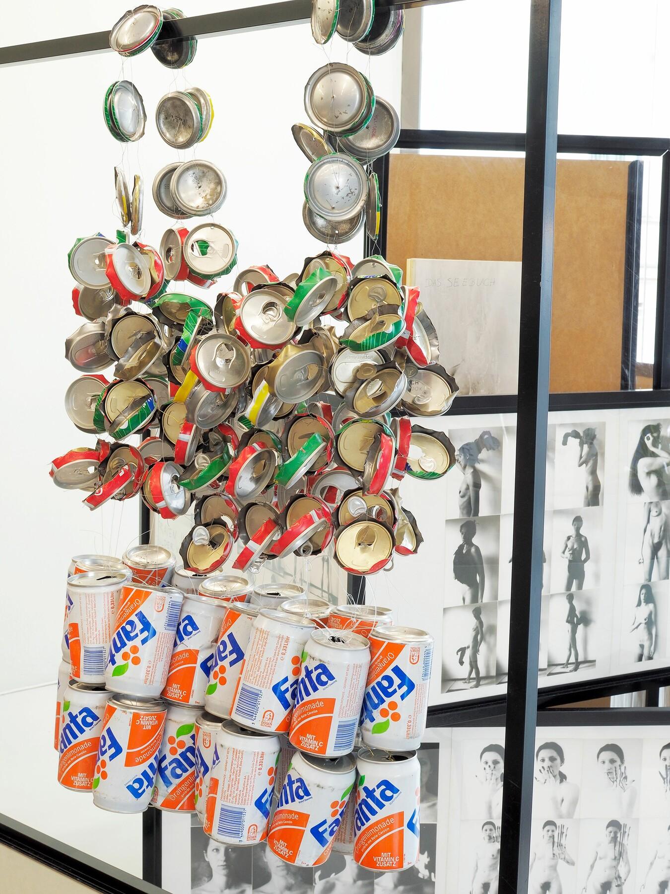 Bewußtes Unvermögen. Das Archiv Gabriele Stötzer, Ausstellungsansicht, Foto: Paula Gehrmann