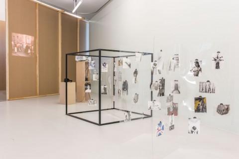 Installation: Gabriele Stötzer and Paula Gehrmann, Conscious Inability: The Gabriele Stötzer Archive #2. Photo: Alexandra Ivanciu