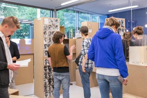 Ausstellungsansicht Gabriele Stötzer und Paula Gehrmann, Bewußtes Unvermögen - Das Archiv Stötzer, Foto Alexandra Ivanciu