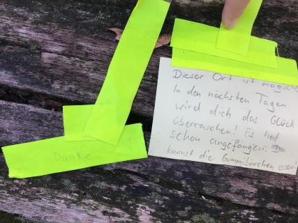 Raumerkundungsübung: Performatives im Garten der GfZK