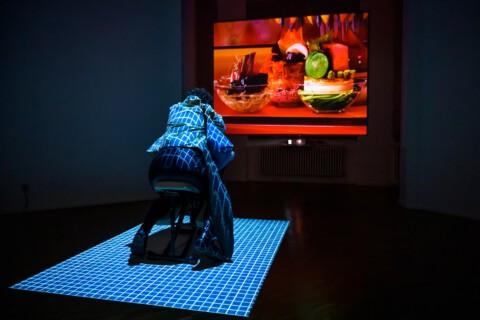 Yin Aiwen, The Value of Care, Eröffnung, Foto Alexandra Ivanciu