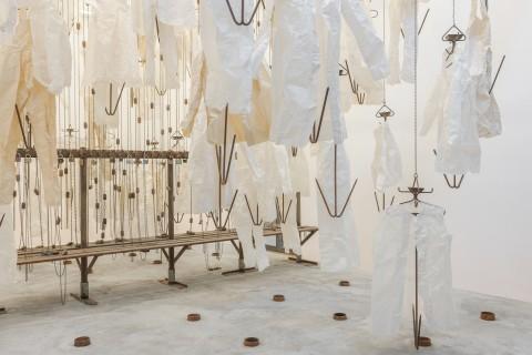 Ausstellungsansicht, Am Ende diese Arbeit, Till Exit, Beyond II, GfZK, Foto Alexandra Ivanciu