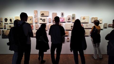 Ausstellungsort Berlin Biennale, Akademie der Künste. Foto: Gao Yi, 2108.