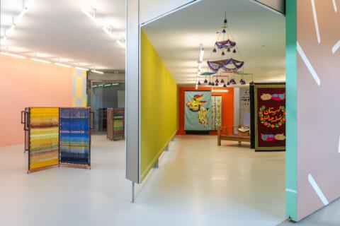 Ausstellungansicht, Kunst_Handwerk, GfZK Leipzig, Foto Alexandra Ivanciu