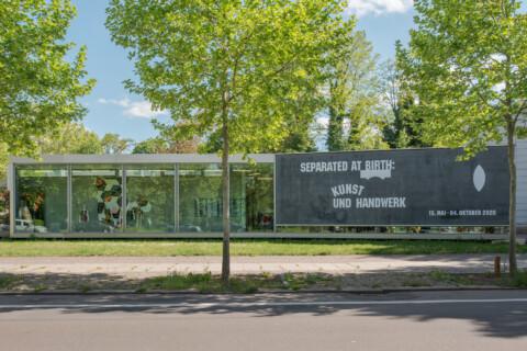 Ausstellungansicht, Kunst_Handwerk, Modern Temperament, GfZK Leipzig, Foto Alexandra Ivanciu