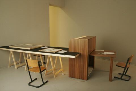 Ausstellungsansicht, This is not a collection exhibition, 2011, Foto: Sebastian Schröder