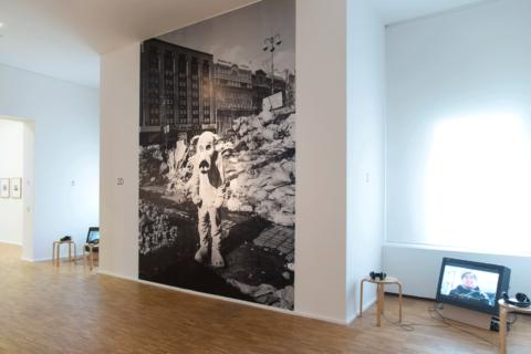 Ausstellungsansicht Senstovs Camera, 2016. Foto: Mikhael Tolmachev