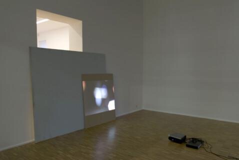 Ausstellungsansicht, RAUM 107: Arthur Zalewski, 2008/2009, GfZK Leipzig, Foto: Arthur Zalewski