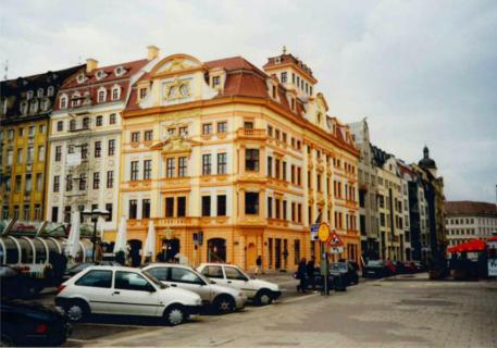 Ausstellungsort in der Sternwartenstraße Romanushof 1991. Foto aus dem Archiv Klaus Werners.