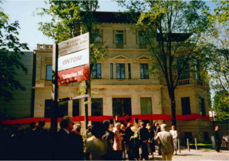 Eröffnung der Herfurtschen Villa 16.5.1998. Foto aus dem Archiv Klaus Werner.
