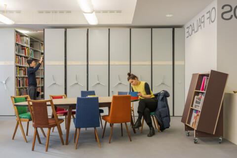GfZK Bibliothek, Foto Alexandra Ivanciu