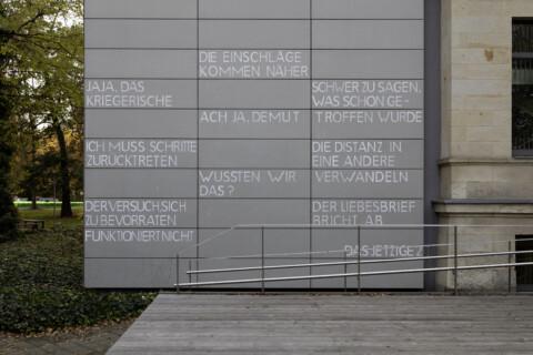 Heike Geißler, Das Jetzige #2, Foto Adrian Sauer