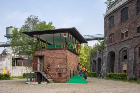 Betonoper DIE TAUBE. Ein Projekt von Suse Weber im Rahmen von Ruhr Ding: Territorien, 2019. Foto: Daniel Sadrowski, Urbane Künste Ruhr