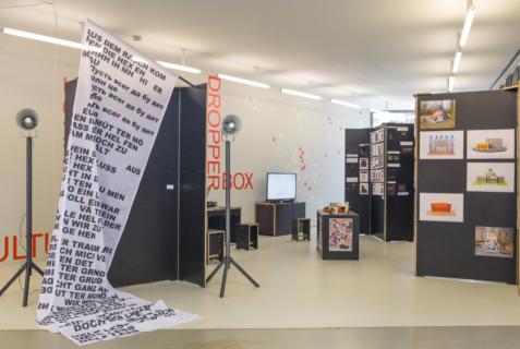 Ausstellungsansicht, East ist East. Appointment X - Verabredungen unter besonderen Bedingungen. Foto: Alexandra Ivanciu