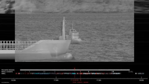 Aegean Shipwreck, Diptych, film still